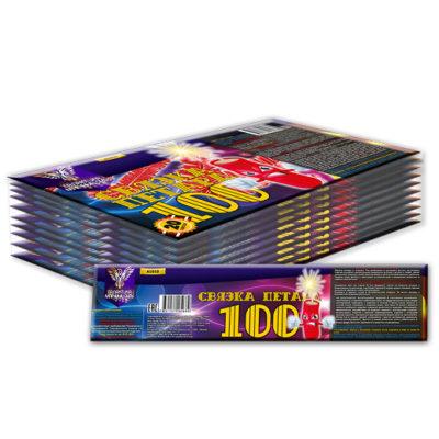 А1010 Петарда фетильная «Связка 100S» (6 штук)
